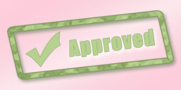 Car Loan Approval Stamp